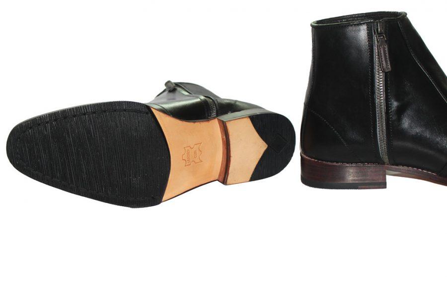 giày boot nam đế gỗ