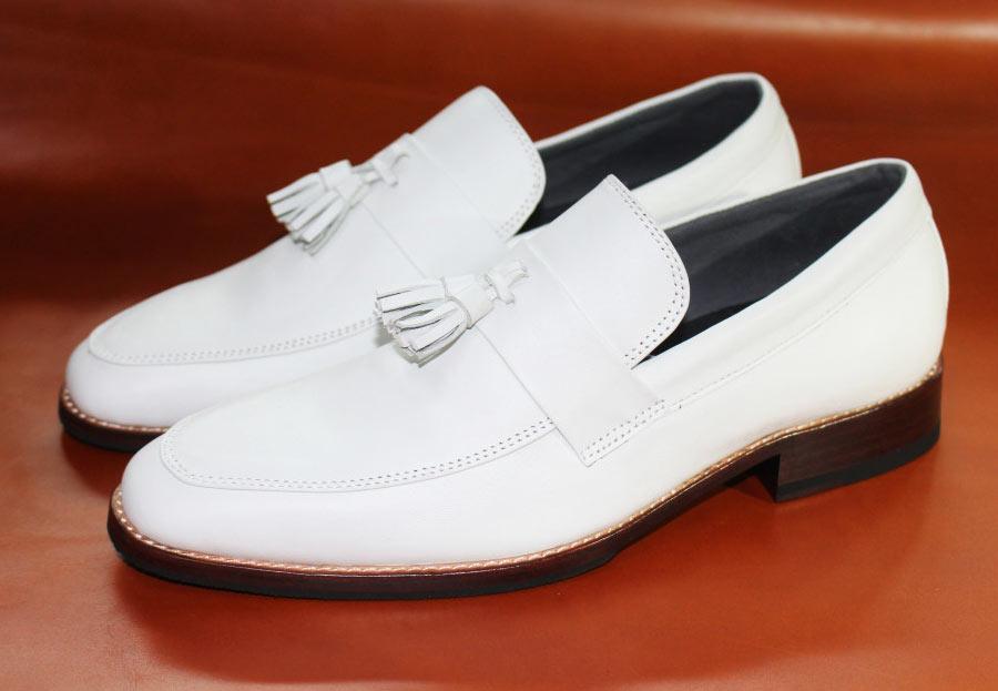 giày nam đế da